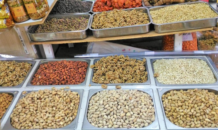 You can't leave the UAE without buying dry fruits!