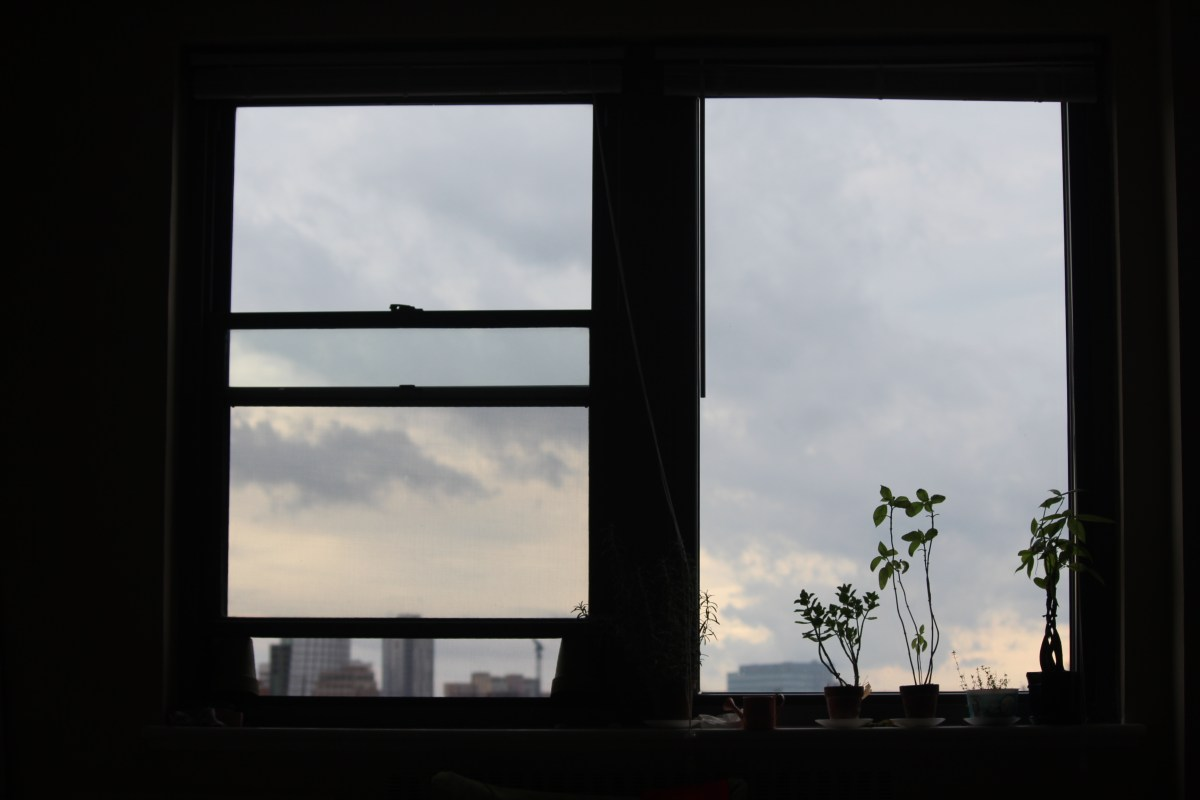 Waking up to the Philadelphian sky