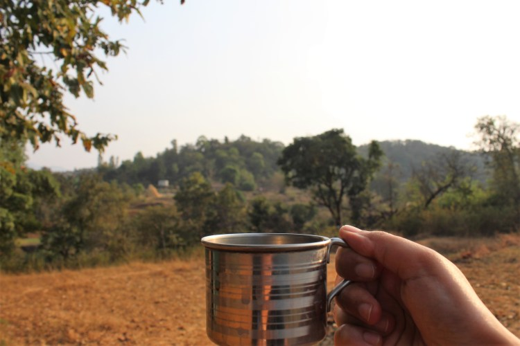 Protinex tastes better with milk, and even better if you have it in the middle of nature! ;-)