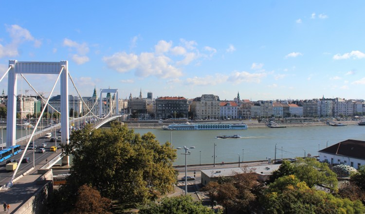 Cross over to Pest from the old Buda and watch the ships go by.