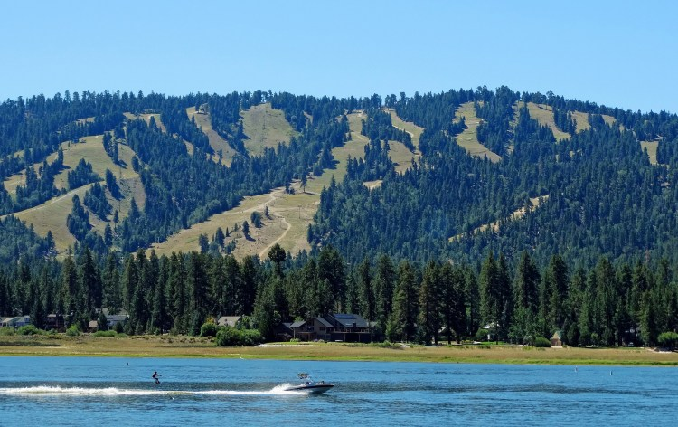 Water-skiing in California's Big Bear Lake (Courtesy: Don Graham)