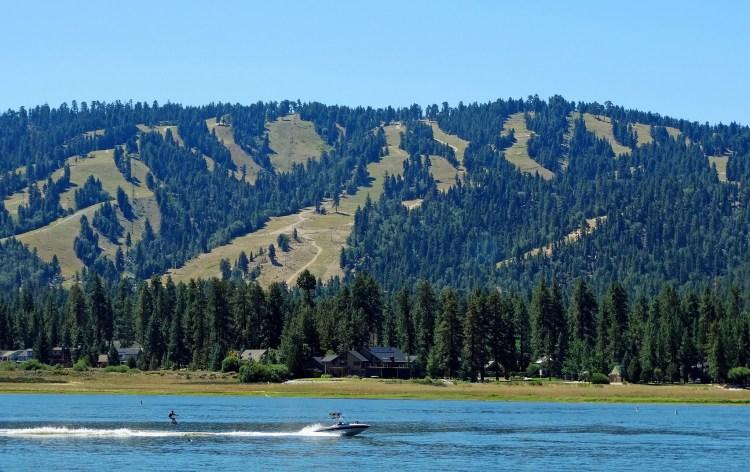 Water-skiing in California's Big Bear Lake (Courtesy: Don Graham)