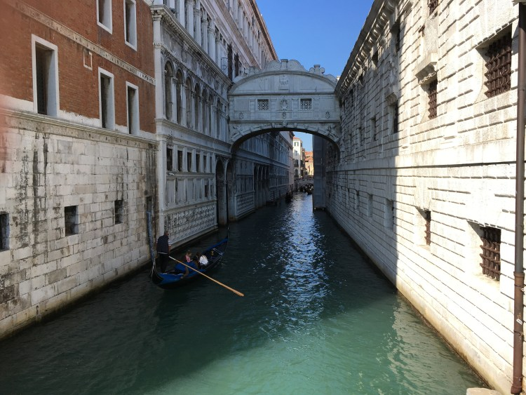 There is no room for narrow mindedness, either in courtship or travel experiences, even when you cross the narrow canals of Venice.