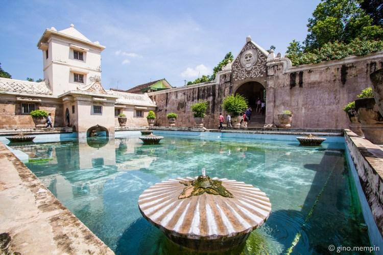 Taman Sari (Water Castle) in Yogyakarta (courtesy: ginomempin)