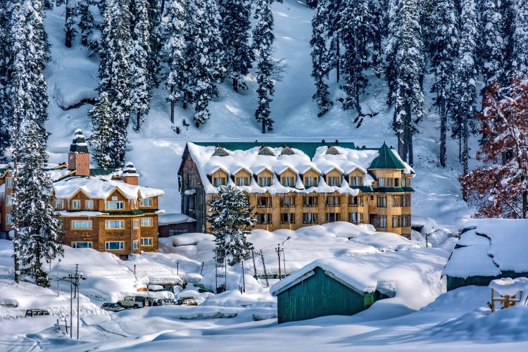 It's hard not to love the snow in Gulmarg