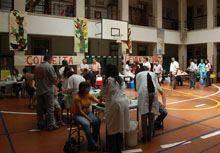 Recolha de sangue «superou expectativas» na         Escola de Santa Clara