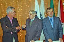 Geada Pinto homenageado pelo Rotary Club da         Guarda