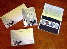 """Lançamento de quatro """"meu selo"""" alusivos à         Herança Judaica na Guarda"""