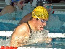 Estudante da UBI campeão nacional de natação