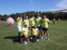 Equipas da Guarda vice-campeãs em torneio de         voleibol de relva