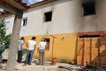 Explosão de gás provoca um morto em Figueira