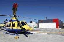 Helicóptero do INEM de Aguiar da Beira deixa de voar à noite