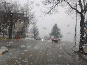 Circulação sem problemas na Guarda apesar da neve