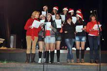 Festa de Natal 2012- Escola Profissional de         Trancoso em comemoração
