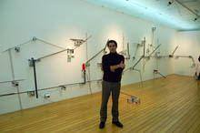 Baltazar Torres esboça «a cartografia         humana» no TMG
