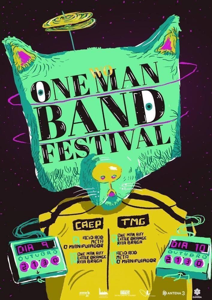 Festivalonemanband Cartaz