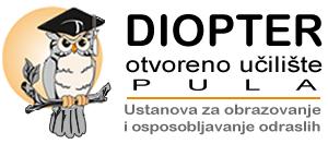 """""""Diopter"""" otvoreno učilište Pula"""