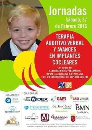 Jornada: Terapia Auditivo Verbal y avances en implantes cocleares en Murcia