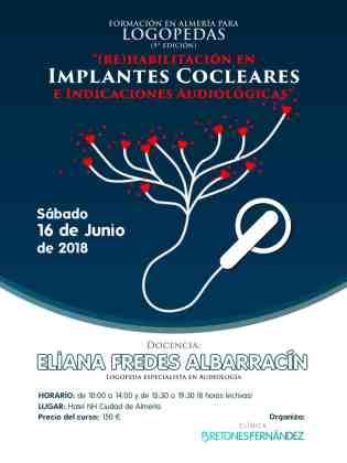 Curso: (Re)habilitación en IMPLANTES COCLEARES e Indicaciones Audiológicas en Almería