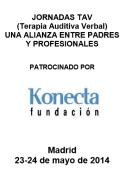 Jornadas de Terapia Auditiva Verbal: Una alianza entre padres y profesionales.