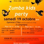 Zumba Kids Party organisée par Partage Oise à Compiègne