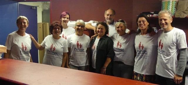 Bénévoles de Partage Oise au concert de Moise Melende et de son gospel