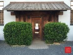 not the restaurant entrance (street side)