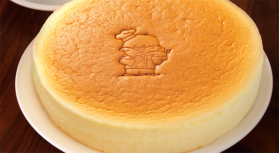Photo Description: Uncle Tetsu Japanese cheesecake.