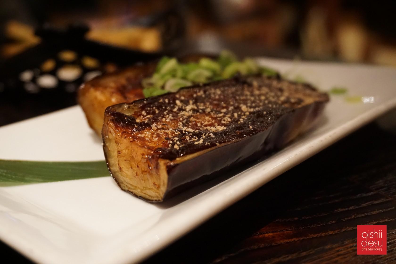 Japanese eggplant with dengaku miso $4.95