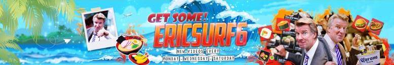 Photo Description: EricSurf6 YouTube header.