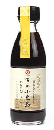 Photo Description: Marukin koikuchi bottle is a glass bottle with light brown label.