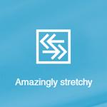 Photo Description: Amazingly stretchy icon