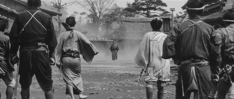 Photo Description: Yojimbo street scene.