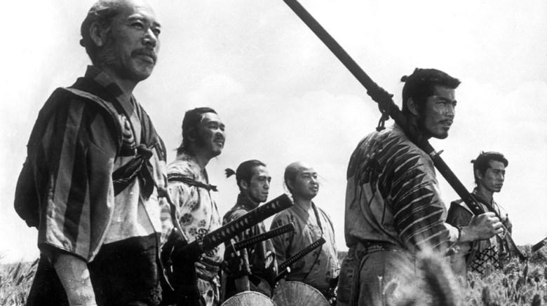 Photo Description: 7 Samurai by Akira Kurosawa.