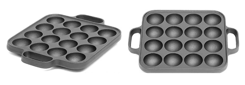 Photo Description: These images look heavily photoshopped although it's of a square pans with handles and radius corners.