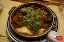 Stewed beef intestines, $11