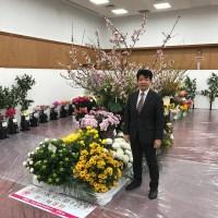 花育活動 会場にて
