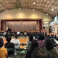 南大分中学校合唱コンクール予選