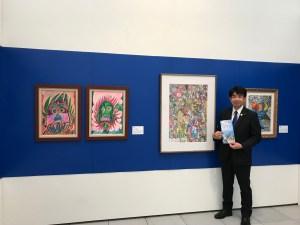 台湾支援学校 アート展