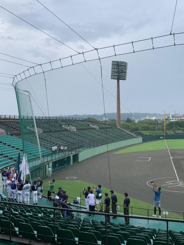 九州各県議会議員親善野球大会の開会式
