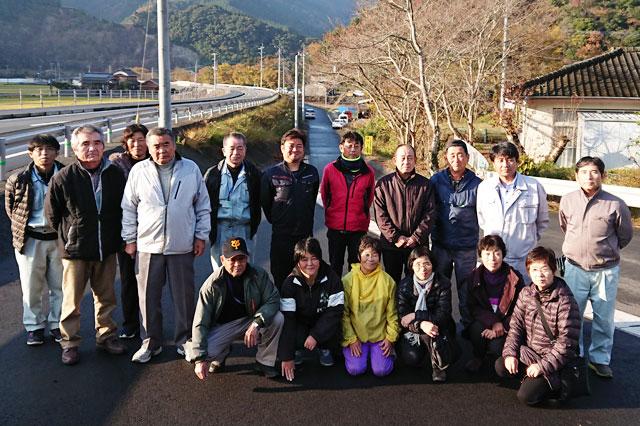 七草生産者の集合写真2017