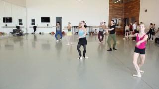 Aula do Houston Ballet
