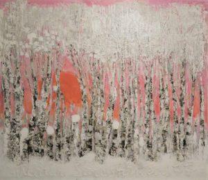 Taidematka salmelaan ja konsertti kuvituskuva Reidar Särestöniemen maalaus