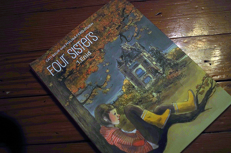 Euro Comics Roundup: FOUR SISTERS