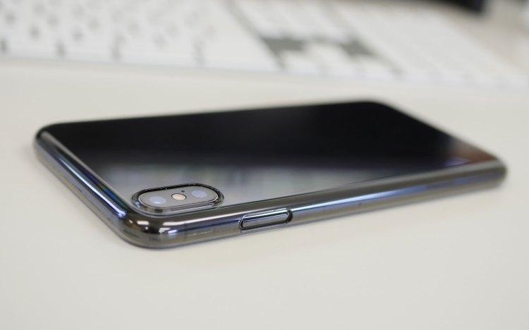 Air Jacket iPhone XS Max用クリアケース