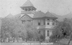 Norhoff Grammar School, where Miss Baker went to school.