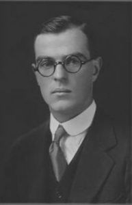 Thornton Wilder at Yale.