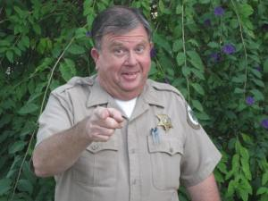 Ventura County Parks Department Park Ranger Drew Mashburn (circa 2014). Mashburn's career with the department began on August 26, 1974 and ended in mid-September of 2015 when he retired with 41+ years of service.