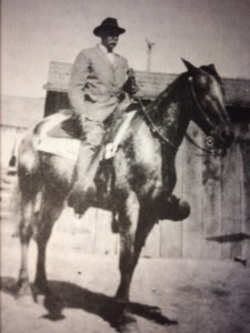 Jose Ignacio Rodriguez, grandson of Don Fernando Tico. (photo courtesy of Juanita Rodriquez Callendar and OVM)