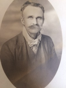 """""""Dad McKee; Aug. 28th = 84 = 1887 = to Ojai"""" is written on the back of this photo which is in the Ojai Valley Museum's photo archives."""